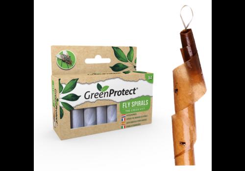GreenProtect Vliegenvangers - 4 stuks