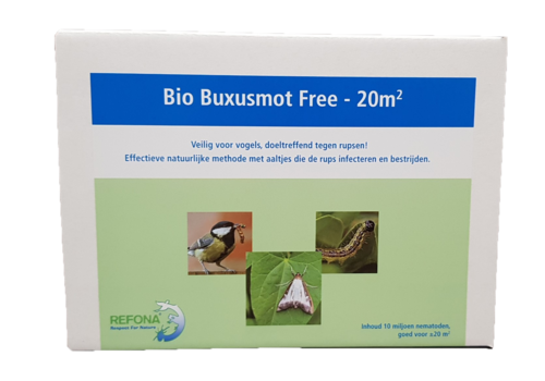 Bio Buxusmot Free Aaltjes tegen de buxusrups - 20M2 - 10 miljoen