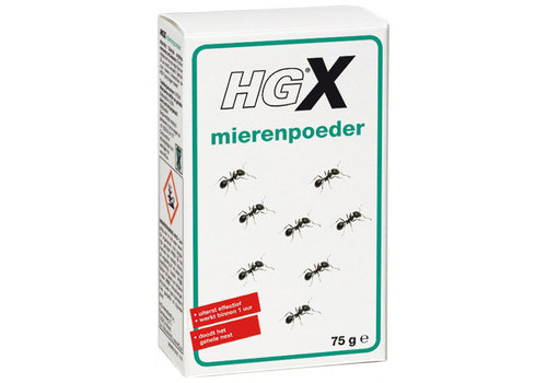 HG   Mierenpoeder 75 gram