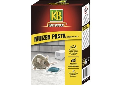 KB Home Defense Muizen pasta Difethialon in 2 lokdozen