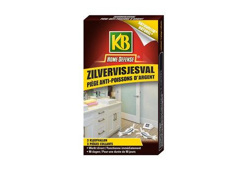 KB Home Defense Zilvervisjesval 3 stuks