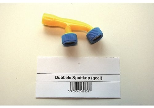 BSI Dubbele spuitkop voor elektrische drukspuit