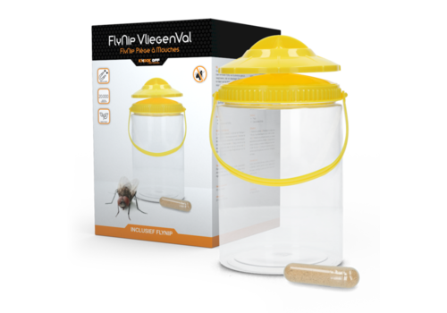 Knock Off Fly Trap vliegenval potmodel