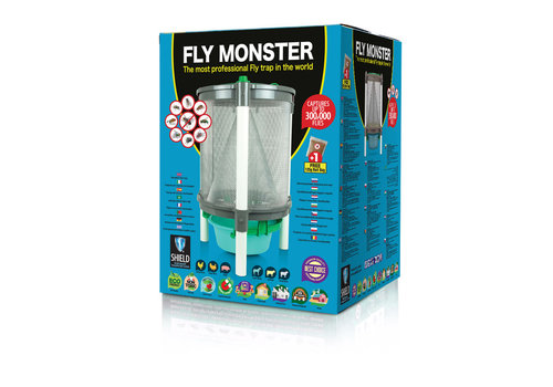 Shield Fly Monster extra grote vliegenval