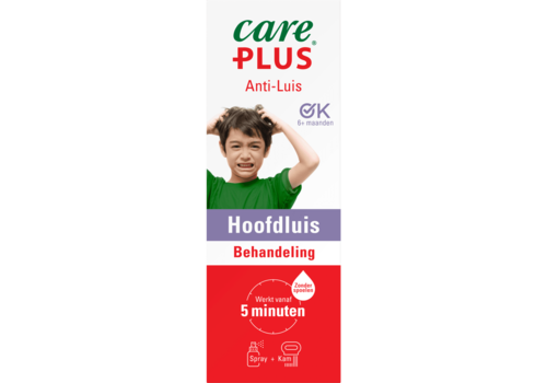Care Plus Anti Luis hoofdluis behandeling