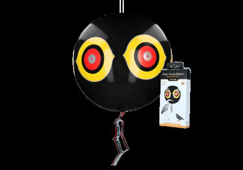 Knock Off Schrikballon tegen vogels Zwart
