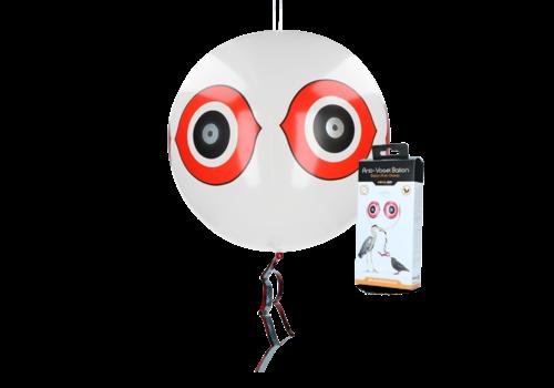 Knock Off Schrikballon tegen vogels Wit