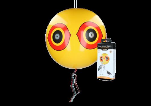 Knock Off Schrikballon tegen vogels Geel