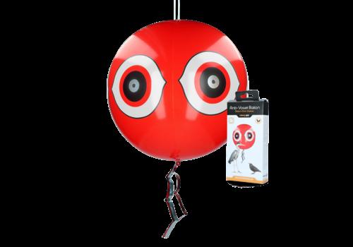 Knock Off Schrikballon tegen vogels Rood