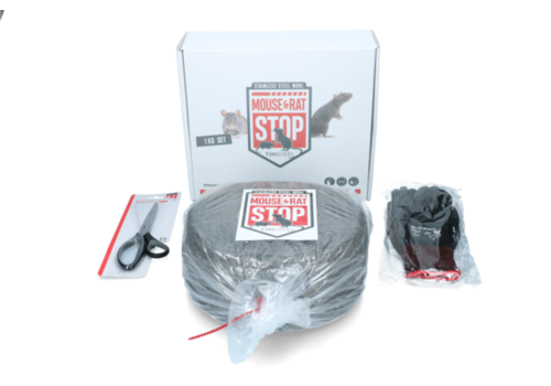 Tekksteel Mouse & Rat Stop staalwol 1KG