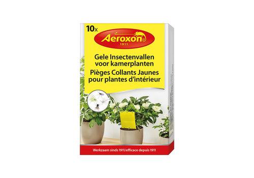 Aeroxon Insectenvallen voor kamerplanten 10 stuks