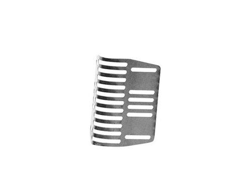 SpouwSafe 6 cm RVS stootvoegrooster 20 stuks