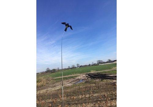 AllesTegenOngedierte.nl Bird-Scare Kite vlieger set 4 meter