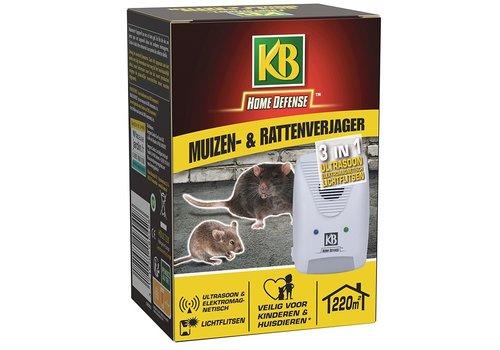 KB Home Defense 3-in-1 muizen- en rattenverjager