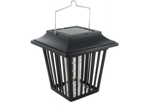 Weitech Solar insecten lantaarnpaal zwart
