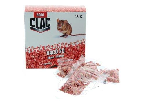 Rodi Clac Raco-25 tegen muizen
