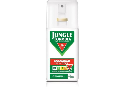Jungle Formula Maximum 50 % deet muggenspray