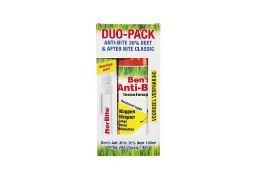 Ben's Anti-Bite After Bite insectenspray DUO-Pack