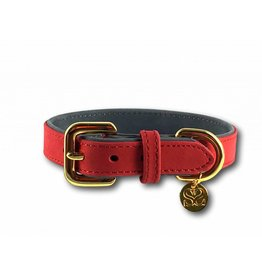SIMPLY SMALL Collar - carmine red - SIMPLY SMALL
