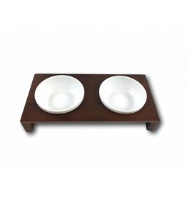 SIMPLY SMALL Feeding bowl - chocolate - SIMPLY SMALL