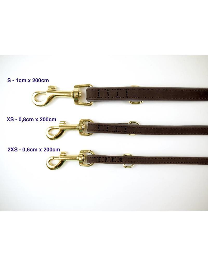 SIMPLY SMALL Lederleine - Mocca Braun - SIMPLY SMALL