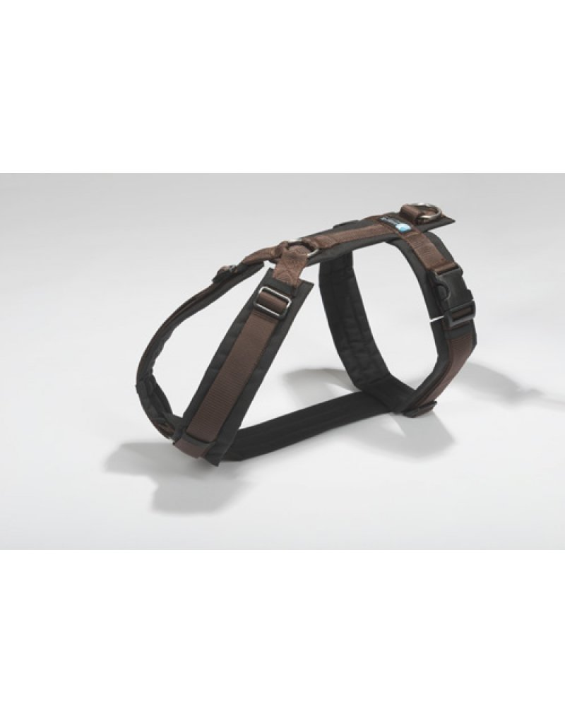 Anny X AnnyX harness for small dogs, XXS, brown/black