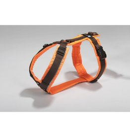 Anny X AnnyX harness for small dogs,  XXS, neon orange/brown