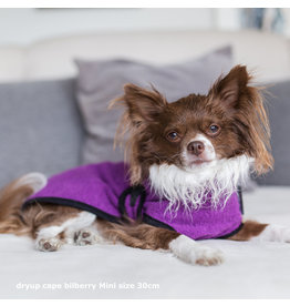 Hundebademantel Violett Mini - DRYUP Cape