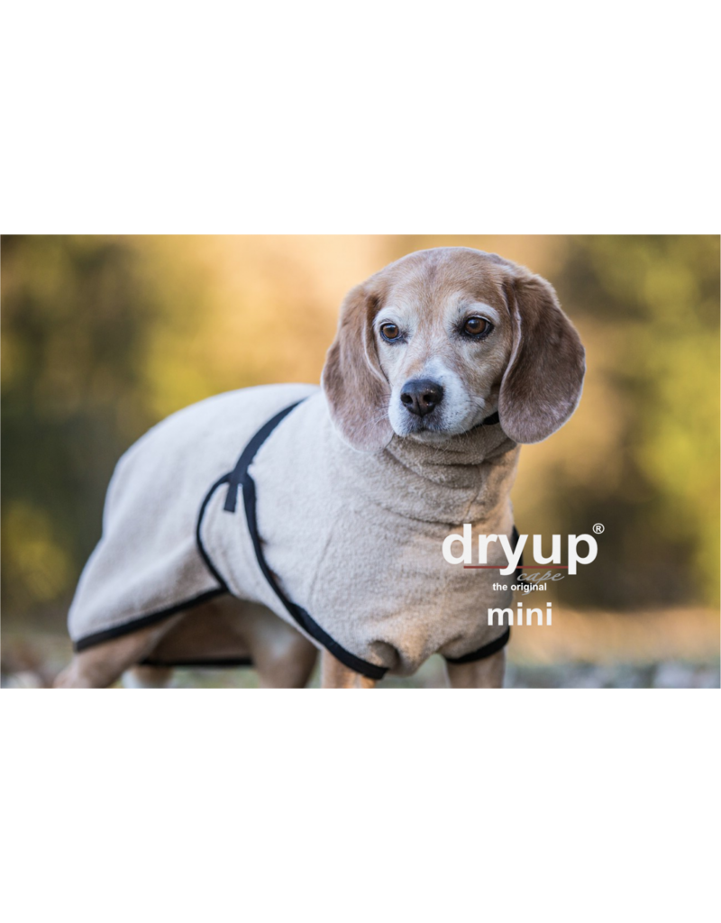 DRYUP Cape sand mini - drying cape for small dogs