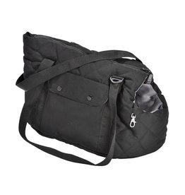 Dog carrier black/grey