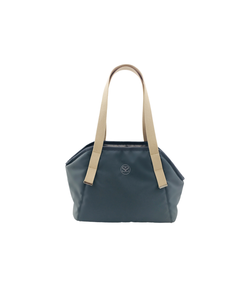 SIMPLY SMALL Exclusive dog carrier by Simply Small - dark grey