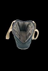 SIMPLY SMALL Exklusive Hundetragetasche von Simply Small - Dunkelgrau