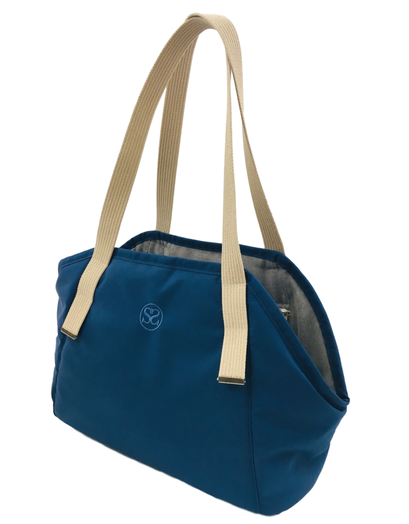 SIMPLY SMALL Exclusive dog carrier by Simply Small - dark blue