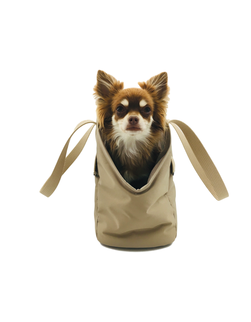 SIMPLY SMALL Exklusive Hundetragetasche von Simply Small - Beige