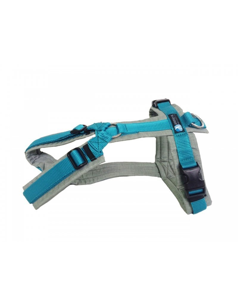 Anny X AnnyX harness for small dogs, XS special colour grey/teal