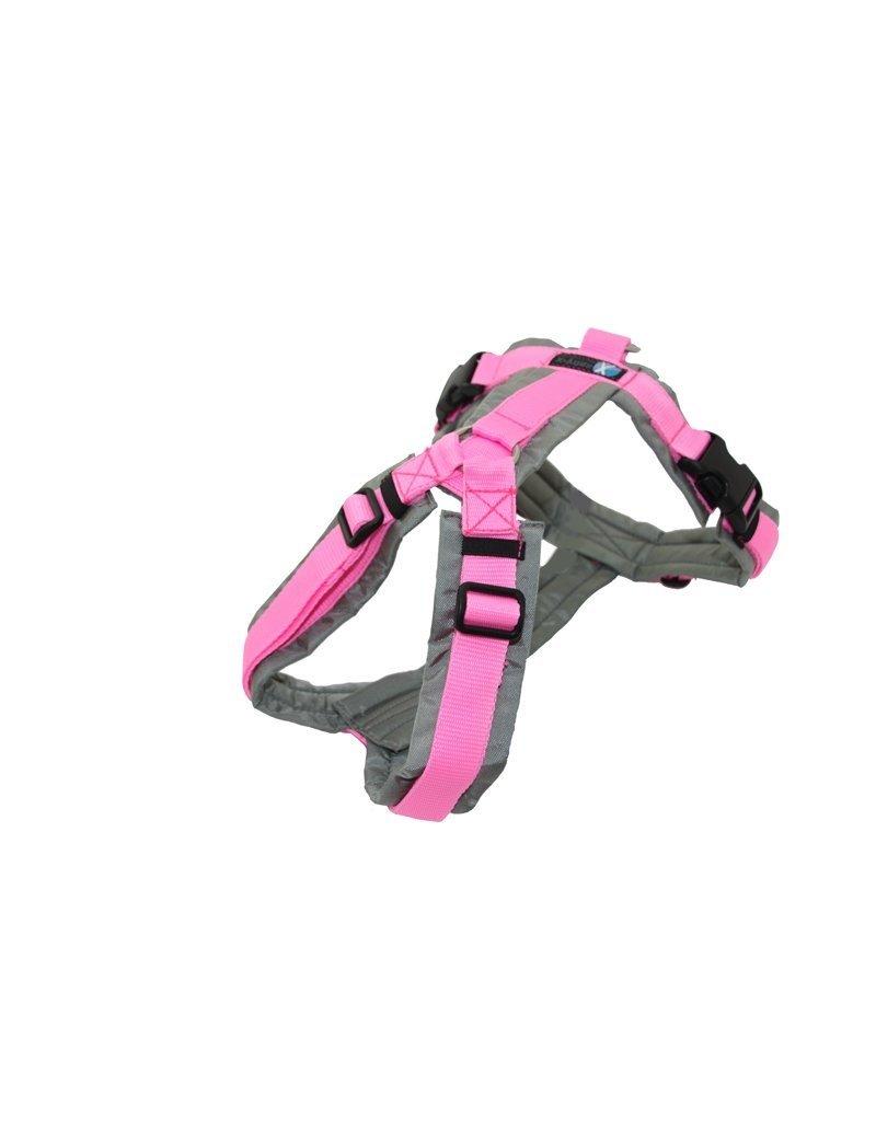 Anny X AnnyX Brustgeschirr Fun für kleine Hunde, XS, Sonderfarbe grau/rosa