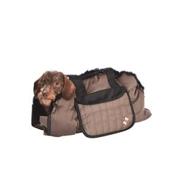 Dog carrier Tentation Taupe