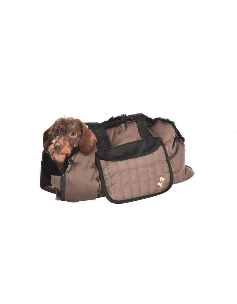 Dog carrier Tentation Taupe by Bobby