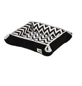 Dog bed 2 in 1 - travel dog bed and blanket