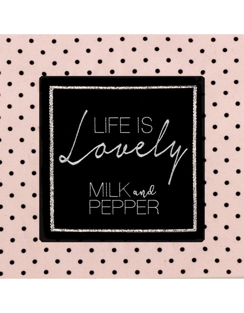 Milk & Pepper dog cave pink, Maison Ronde Lovely Pink