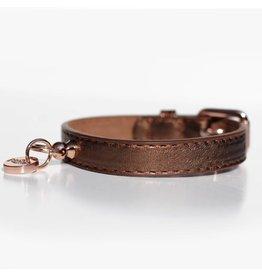Collar Shine Copper bronze metallic Milk & Pepper