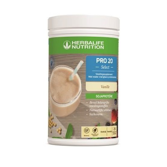 PRO 20 Select  NEW !!!! Met water mengbare proteïneshake