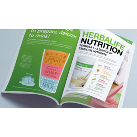 Nieuw: Herbalife Productbrochure (64 Pagina's)