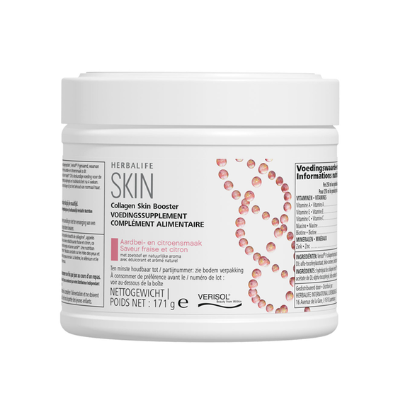 SKIN Collageen Skin Booster Aardbei- en citroensmaak