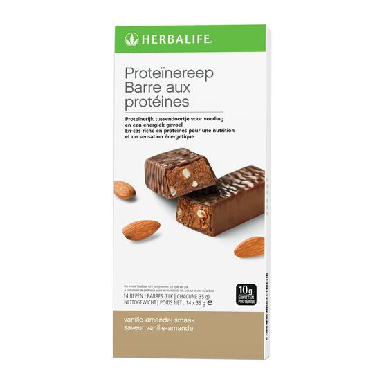 Herbalife proteïnereep vanille amandel