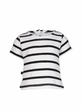 nOeser Top black white stripes