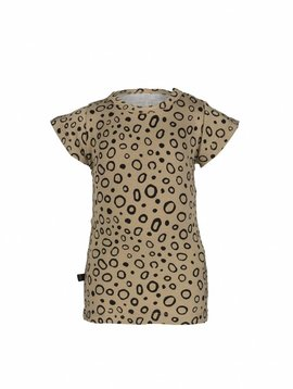 nOeser T-shirt sand with black circles