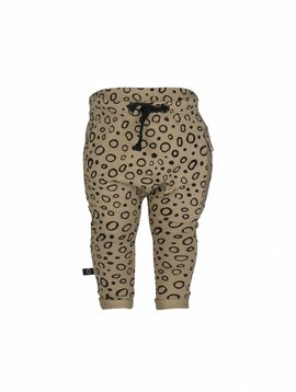 nOeser Fun sweatpants sand with circle print