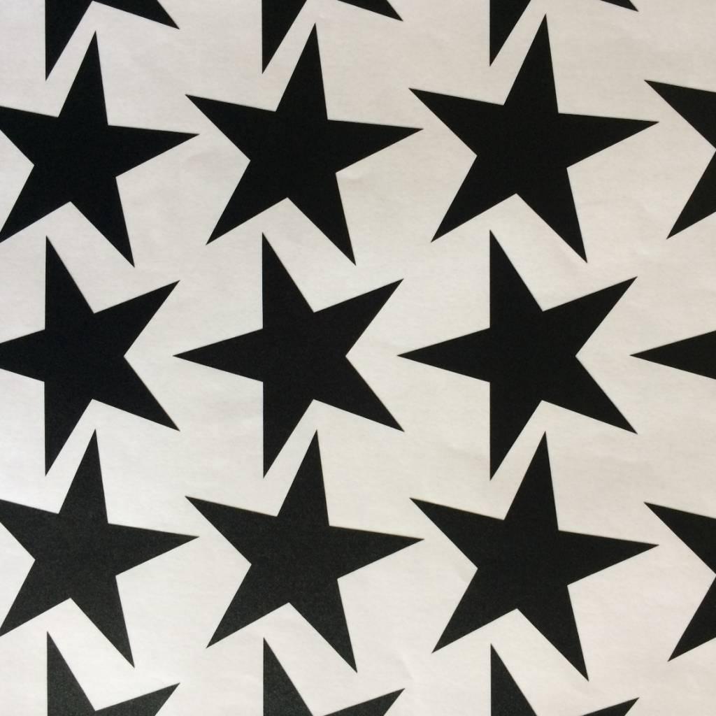 Wall stickers - star black