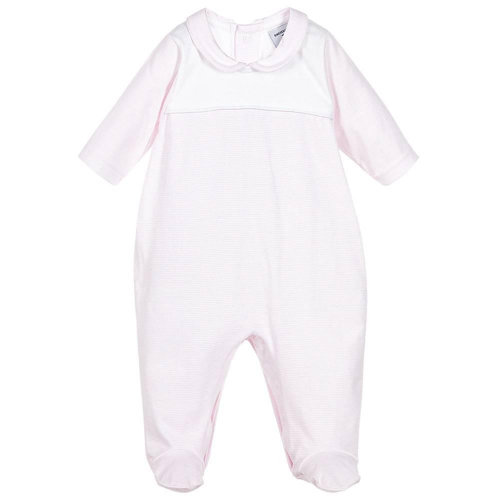 Babidu Babypakje roze wit gestreept